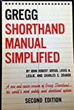 img - for Gregg Shorthand Manual Simplified, Second Edition book / textbook / text book