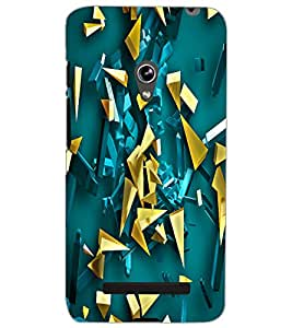 ASUS ZENFONE 5 PATTERN Back Cover by PRINTSWAG