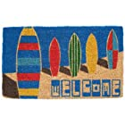 Entryways Surf Boards Hand Made Coir Doormat 18 x 30