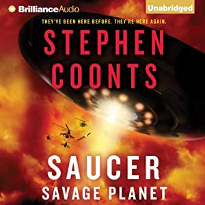 Saucer: Savage Planet Audiobook