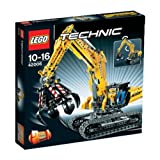 LEGO Technic - Máquina excavadora - 42006 + Technic - Minitodoterreno (42001)