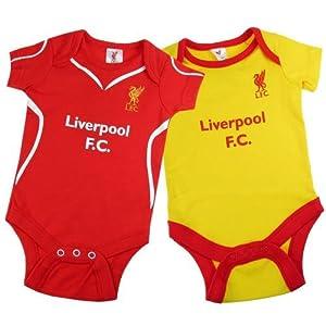 Bodysuit (2 Pack) - Liverpool F.C (6-9 Months)