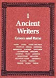 img - for Ancient Writers : Greece and Rome (2 Volume Set) (Scribner Writers) book / textbook / text book
