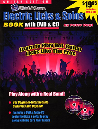 Els - Watch & Learn Electric Licks & Solos For Guitar Book/Cd/Dvd