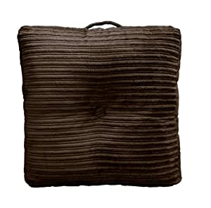 Oversized Plush Floor Pillows : Buy Elements Hi-Lo Plush Cord Oversized Floor Cushion, Chocolate Chip Online at Low Prices in ...