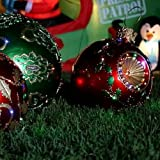 "Fiber Optic Huge Outdoor Christmas Yard Ornament Decoration 19 1/2 "" Diameter ~ $150 Off MSRP"