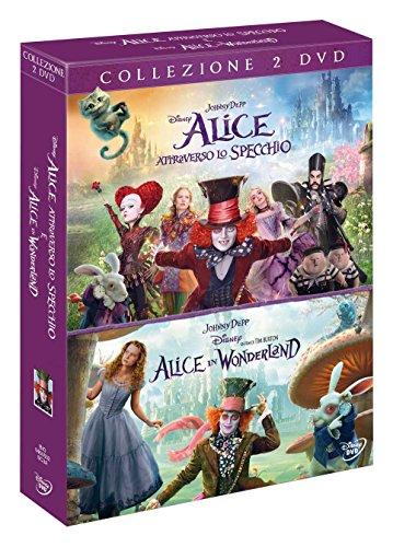 Cofanetto Alice In Wonderland / Attraverso Lo Specchio (2 DVD)