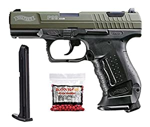 Walther P99 .43 Blowback Paintball Pistol Super Combo