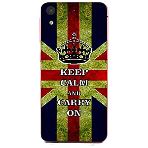 Skin4gadgets Keep Calm and CARRY ON - Colour - UK Flag Phone Skin for HTC DESIRE 626