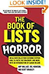 The Book of Lists: Horror: An All-New...