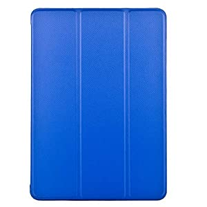 KHOMO iPad Mini 4 Case (Released September 2015) - DUAL Dark Blue Super Slim Twill Texture Cover with Rubberized back and Smart Feature (sleep / wake feature) For Apple iPad Mini 4th Generation Tablet by ipad mini 4 case