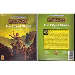 City of Skulls (Advanced Dungeons & Dragons, 2nd Edition Greyhawk Adventures) by Carl Sargent and Jeff Easley