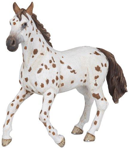 "Papo 5"" Apaloosan Mare Horse Animal Replica Figurine Toy"