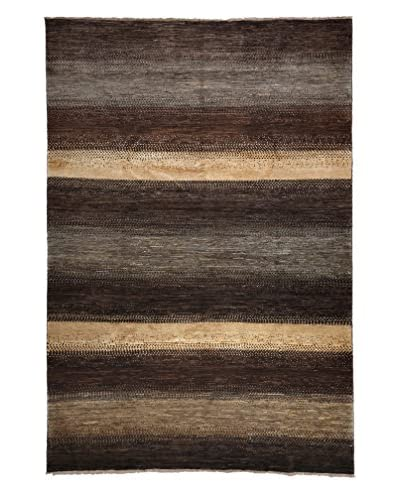 "Solo Rugs Traditional Oriental Rug, Brown, 6' 6"" x 9' 6"""