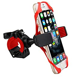 Oenbopo Motorcycle Bicycle MTB Bike Handlebar Mount Holder Universal For Cell Phone GPS, iPhone 7/7 Plus iPhone 6 6S 6plus SE 5s 5c Samsung Galaxy Note7 5 4 3 S7 S6 S5 S4 HTC LG