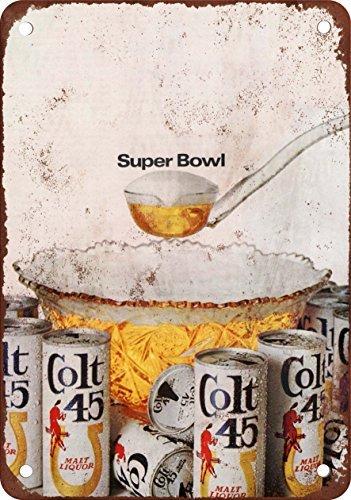 1968-colt-45-malt-liquor-e-super-bowl-stile-vintage-riproduzione-in-metallo-tin-sign-305-x-457-cm