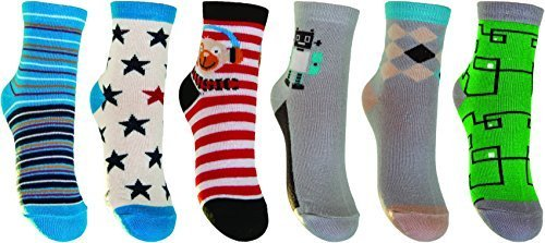 childrens-socks-boys-trainer-socks-yoscorpio-6-pair-skc-sta-mix2-multicolour-boy-uk-4k-55k