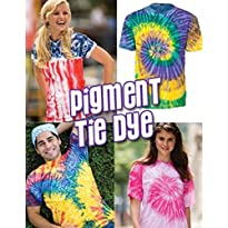 Tie Dye Pigment Dyed T-Shirt - All Colors