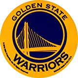 "NBA Golden State Warriors WCR66696010 Round Vinyl Decal, 3"" x 3"""