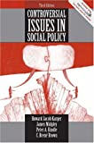 img - for Controversial Issues in Social Policy (3rd Edition) book / textbook / text book