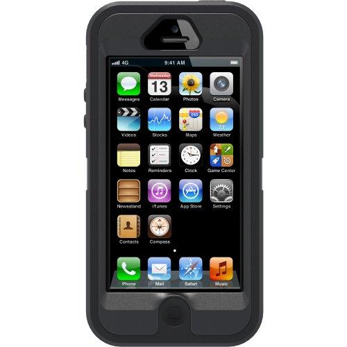 Otterbox - Cover serie Defender per Apple iPhone 5, Nero