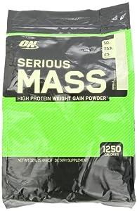 Optimum Nutrition Serious Mass Gainer Vanilla, 1er Pack (1 x 5455g) by Optimum Nutrition