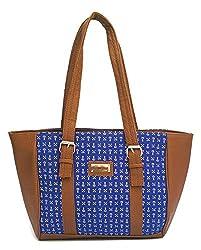 Vintage Stylish Ladies Handbag Blue(bag 108)