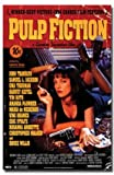 Pulp Fiction Movie (Uma - Retro Ad) Poster Print - 24
