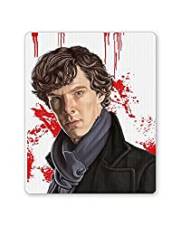 PosterGuy Sherlock Holmes Benedict Cumberbatch Fan Art Caricature Mouse Pad