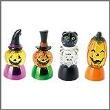 ハロウィン かぼちゃ 装飾 キャンドルライト 置物 パーティー グッズ ハロウィンLEDモンスター 4種アソート