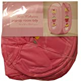 Bright Pink Cupcakes Foldable Pop Up Mesh Laundry Basket Bag Kids Room Toy Tidy Storage