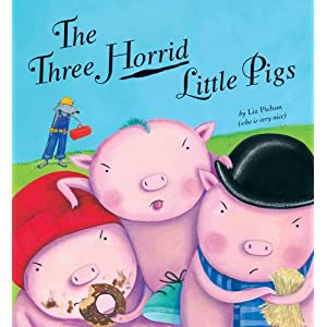 The Three Horrid Little Pigs