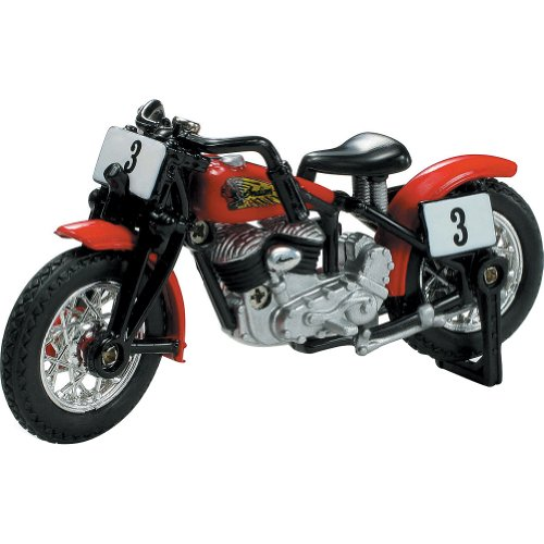 New Ray 1947 Indian Sport Scout Bobber Replica Motorcycle Toy - 1:32 Scale