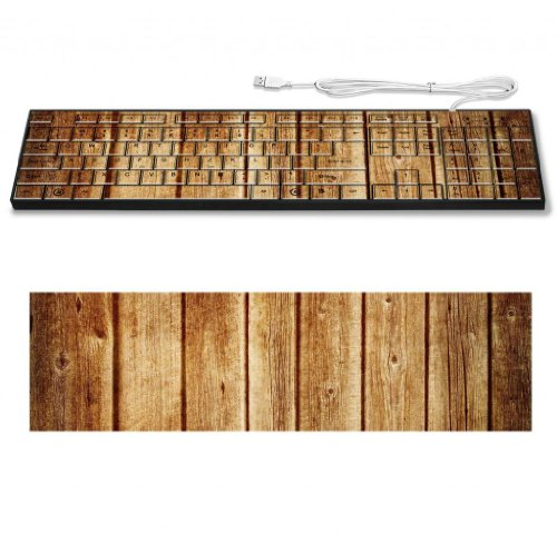 Texture Board Wood Tree Macro Keyboard Customized Made To Order Support Ready 16 7/8 Inch (430Mm) X 4 7/8 Inch (125Mm) X 15/16 Inch (25Mm) High Quality Msd Key Board Boards Desktop Laptop Key_Board Comfortable Computer Accessories Cute Gaming Gear