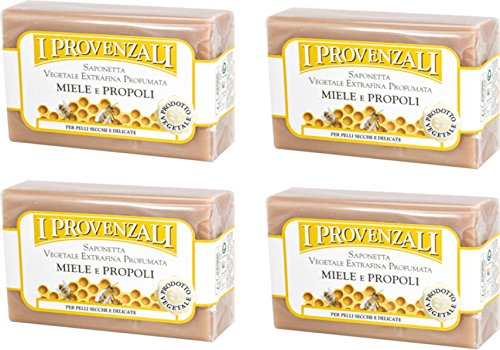 i-provenzali-miele-e-propoli-vegetable-perfumed-soap-honey-and-propolis-scent-35-ounce-100g-packages