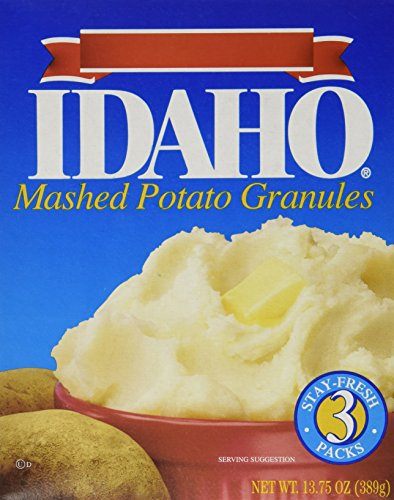 Pillsbury Idaho Mashed Potatoes, 13.75-Ounce (Pack of 6) (Idaho Food compare prices)