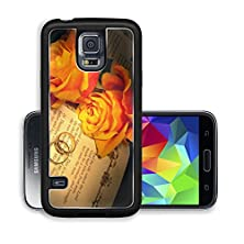 buy Liili Premium Samsung Galaxy S5 Aluminum Snap Case Two Wedding Rings And Roses On A Bible With Genesis Text The Decorations In The Book Are Copied Image Id 4944338