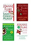 Joanne Fluke Christmas Bundle: Sugar Cookie Murder, Candy Cane Murder, Plum Pudding Murder, & Gingerbread Cookie Murder (Hannah Swensen)