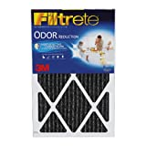 Filtrete Home Odor Reduction Filter, 20-Inch by 25-Inch by 1-Inch, 4-Pack