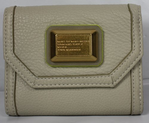 Marc Jacobs Saddlery Small French Purse Wallet Cloud