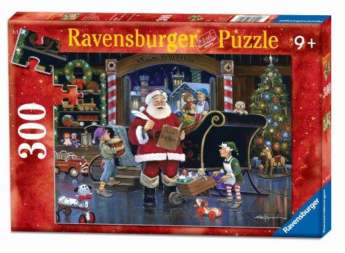 Santa'S Workshop Christmas Puzzle, 300-Piece