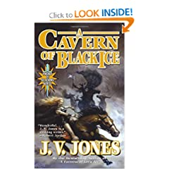 A Cavern of Black Ice (Sword of Shadows) by J. V. Jones
