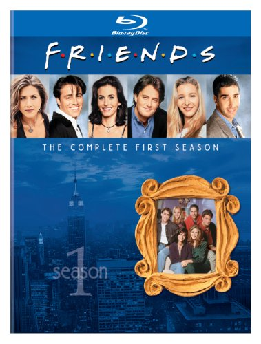 Blu-ray : Friends: The Complete First Season (AC-3, 2 Pack, , Dolby, 2 Disc)
