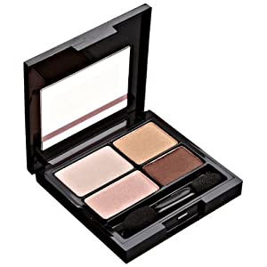 REVLON Colorstay 16 Hour Eye Shadow Quad, Decadent, 0.16 Ounce
