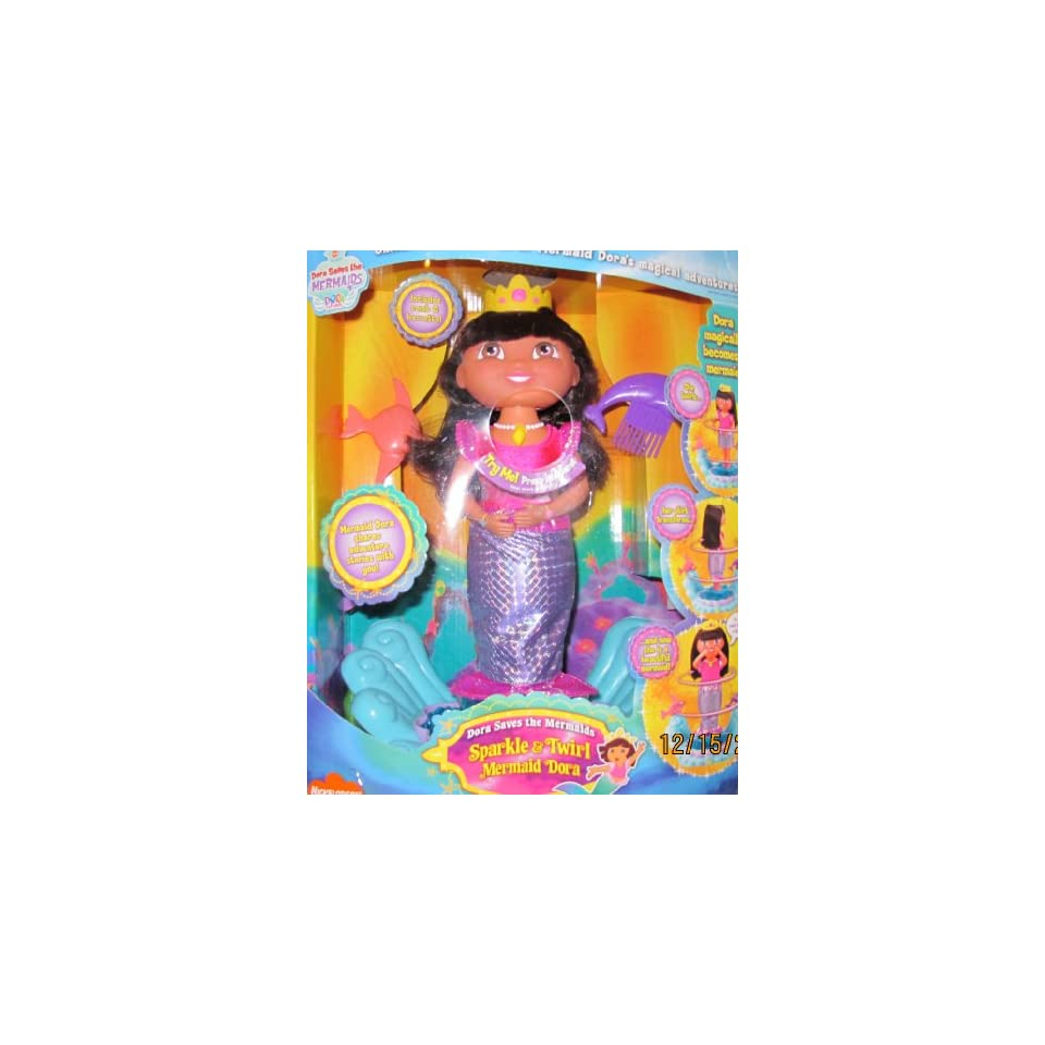 Dora The Explorer Mermaid Sparkle And Twirl Commercial