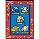Official Kids Bob the Builder Printed Fleece Blanket