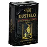 Supreme by Bustelo Premium Ground Coffee, Espresso Style, 10-Ounce Bricks (Pack of 4) ~ Cafe Bustelo