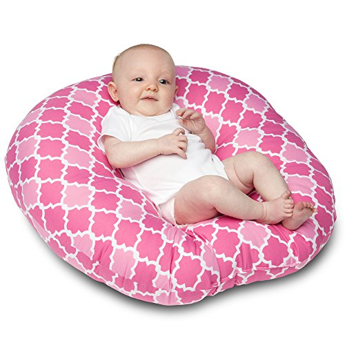 Boppy Newborn Lounger, French Rose - 1
