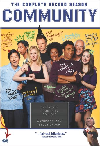 Cover art for  Community: The Complete Second Season