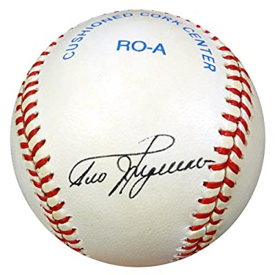 Ted Higuera Milwaukee Brewers Autographed PSA/DNA Authenticated AL Baseball - Signed Baseballs